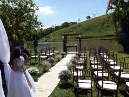 Espetacular opção de locação para casamentos, aniversários e eventos em geral
