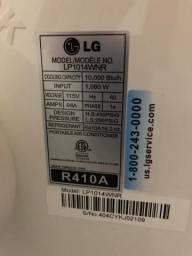 Ar-condicionado portátil LG 10.000 Btus