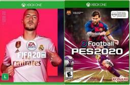 Pés 2020 e fifa 2020 pra Xbox one