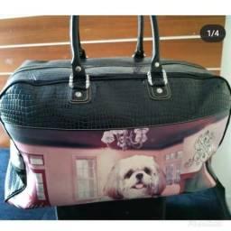 Bolsa grande de viagem Rafitti seminova R$120,00