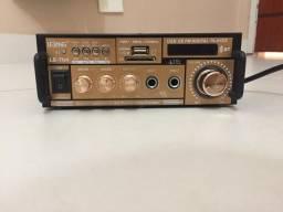 Receiver Bluetooth/USB/Rádio AM e FM
