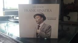 CD Franck Sinatra Box 5 cds 100 ANOS nunca usado