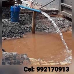 Manutenção de bombas d'água