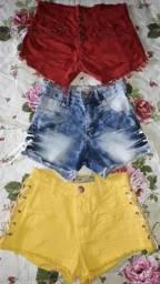 Shorts, Bores e Tops da Moda. (Barato pra sair)