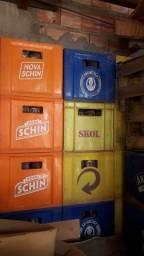 Tenho vários engradado de cervejas de 600 e litrao e litrinho qui são as de 350 ml