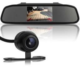 Espelho Retrovisor + Câmera Re 199,00 Instalado em Promoção