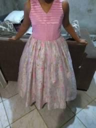 vendo vestido de festa super conservado