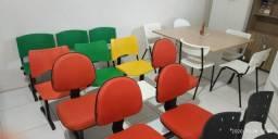 Longarinas, cadeiras de espera