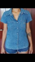 Camisa jeans gasoline