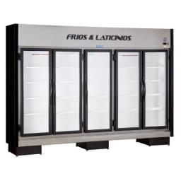 Expositor para frios e laticínios 5 portas - Thaís