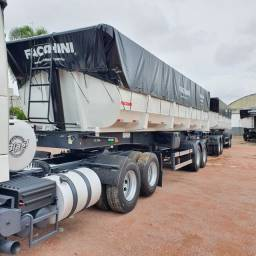 Rodocaçamba Facchini 35 + 35m³ 2021 - Nova Sem Pneus - Zero
