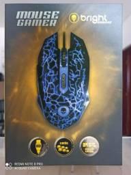 Mouse Gamer Light 0447 2400 DPI Bright - Nota Fiscal e Garantia!!!