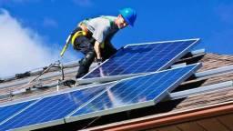Placa fotovoltaica com geração de 390W