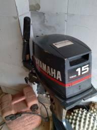 Vendo Motor de Popa 15 HP Yamaha