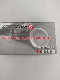 Filtro anti-ruído, Stetsom. STF-2. Novo, instalado.