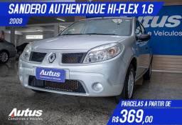 Renault Sandero Authentique 1.6 8V Hi-Torque (flex) 2009