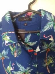 Camisa slim masculino
