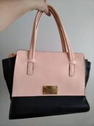 Bolsa Dumond rosa e preto