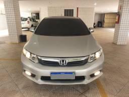 Honda Civic EXR 2.0 Flex Automático TetoSolar 2021Ok Couro P.Novos - LINDO
