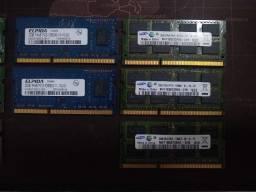 Título do anúncio: Memoria DDR3 - 2GB - Notebook - Cada