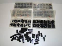 Kit de preços para Vitrine com 600 peças ( caracteres ) preto com impressão branco
