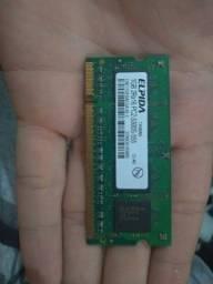 Memória Elpida 1 GB 2Rx16 PC2-5300S-555-12-A0