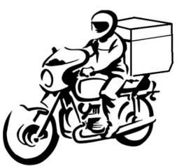 Contrata-se entregador com moto e baú de 135litros