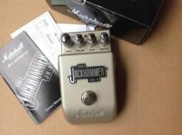 Vendo pedal Marshall Jack Hummer Overdrive + Distortion + EQ  semi-novo na caixa