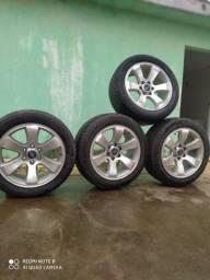 Jogo de roda aro 20 p/ caminhonetes