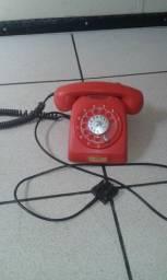 Telefone antigo relíquia