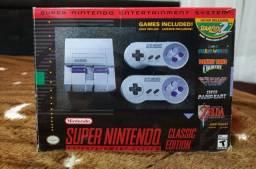 Título do anúncio: Super Nintendo Classic Edition Mini HDMI c/ 21 jogos