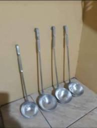 Conchas de alumínio industriais
