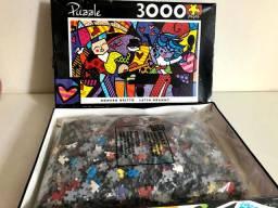 Quebra cabeça 3 mil peças