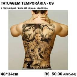Tatuagem Temporária - Samurai