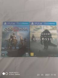 God of war e shadow of the Colossus