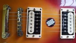 Título do anúncio: Guitarra Les Paul Stagg Captadores Custon II S da malagoli