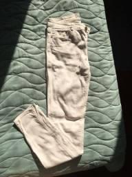 calça skinny jeans branca Zara