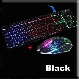 Título do anúncio: Teclado e mouse gamer com LED h'maston