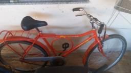 Bicicleta barra circular monark