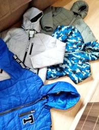 Promoção jaquetas novas menino