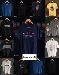 Estoque de camisas masculinas - Fio 40.1 - Leia o anúncio!
