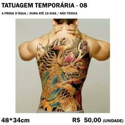 Tatuagem Temporária - Carpa