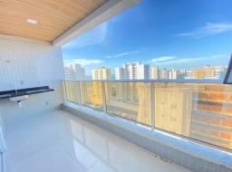 Apartamento vista mar/03 suítes/ Porcelanato, 3 vagas cobertas (TR75940) MKT