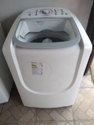 Máquina de lavar roupa 15kg cesto inox