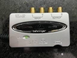 Título do anúncio: Interface de Áudio Behringer UCA202