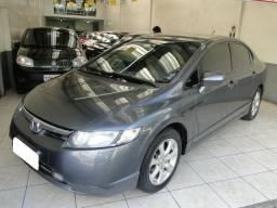 Honda Civic lxs 1.8 cinza KM: 93713