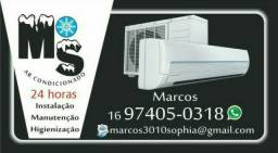 Instalação manutenção e venda ar condicionado