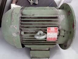 Motor Trifásico De 10 Cv Weg - 220 - 380 - 440 V
