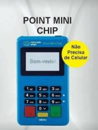 Máquina de cartões Point mini chip