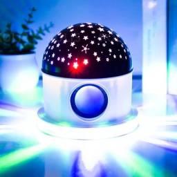 Globo Céu Estrelado Bluetooth Toca Música do Celular